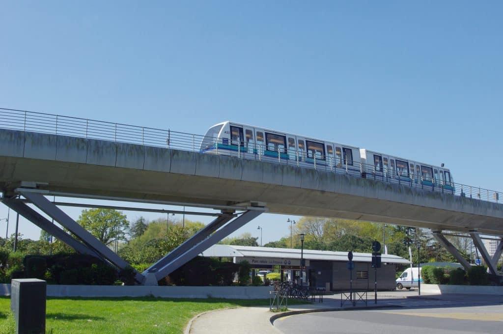 Métro station de la Poterie à Rennes