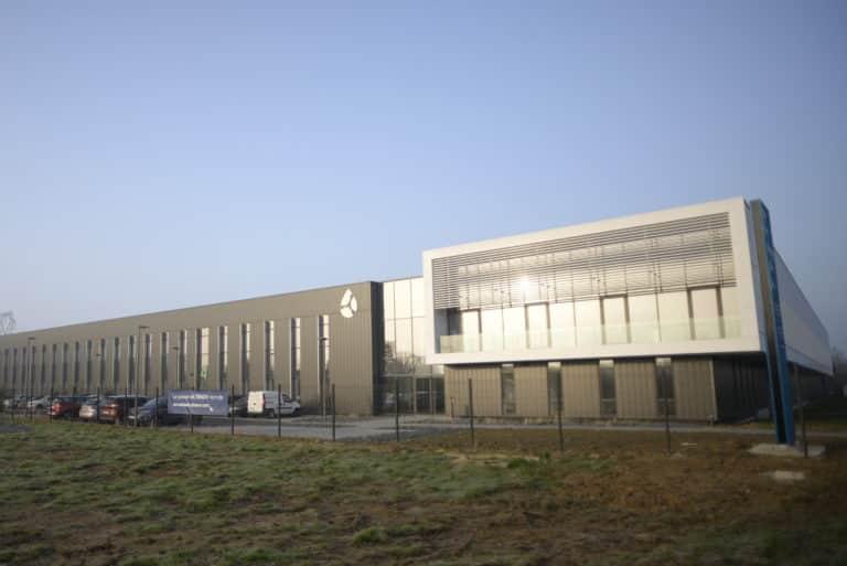 Le nouveau siège social du Groupe Altenov construit par PIERRE PROMOTION